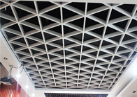 Fashionable Rustproof Aluminum Suspended Open Grid Ceiling/ Grille Ceiling for Shopping Mail