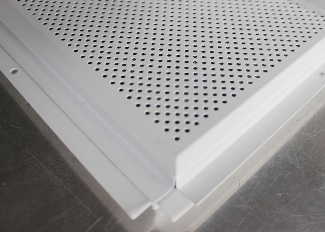 Beveled Edge Commercial Ceiling Tiles Panel with Tee Bar Grid H32 x  W24